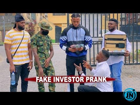 Zfancy - Fake Investor - African Prank